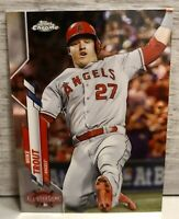2020 Topps Chrome Update Mike Trout #U-69 Anaheim Angels All-Star Game