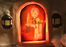 "MJ Hummel ""Winter Comfort"" Bavarian Village -Hawthorne- porch light -New in Box"
