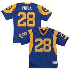 Los Angeles Rams Marshall Faulk Blue 1999 Mitchell   Ness Jersey 2x 322723e24