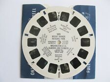 VIEW MASTER VIEWMASTER 105 MOUNT RAINIER WASHINGTON GLACIERS AND FLOWERS U.S.A.