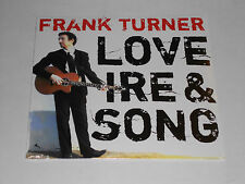 FRANK TURNER  Love Ire & Song  LP SEALED