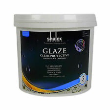 GLAZE Clear Sealer Waterbased Satin Low Odour Indoor Outdoor Concrete Wood 5L