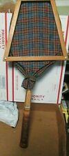 Macgregor Fleetwood Vintage Wood Tennis Racquet With Cover & Press