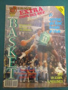 REVISTA NUEVO BASKET. Extra NB Num.1 Copa del Rey 85-86.