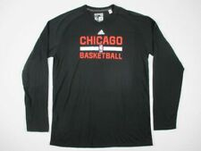 adidas Chicago Bulls - Men's Black Clima-lite Long Sleeve Shirt (XLT) - Used
