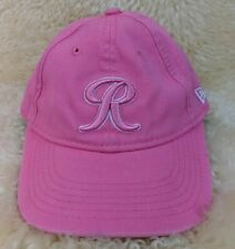 NEW ERA Tacoma Rainiers MiLB Logo Hat 9TWENTY Youth Strapback Cap Pink