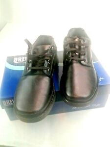 Drew Shoes Toledo 40895-14 Men's Black Casual Lace Up Shoe W/Plus Fitting Sz 11W
