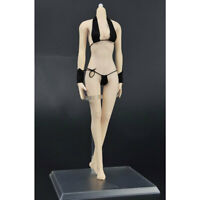 1:6 Scale White Skin Female Seamless Body Action Figure for Phicen Clothes