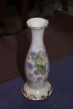 Vintage ISOBEL Hand Painted Signed Ceramic Porcelain Flower Vase