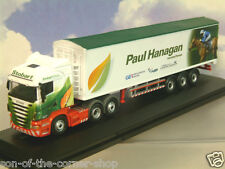 OXFORD SCANIA HIGHLINE JOCKEY TRUCK/TRAILER EDDIE STOBART PAUL HANAGAN 76SHL07WF