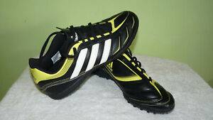 Pair of Adidas  Football Trainers Pvc Uppers Uk size:8 Euro: 42
