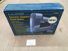 A605 Craftsman 9-68481 Electric Stapler Brad Nailer for Woodworking Hobby Craft