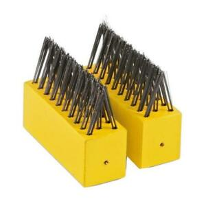 2 x Wolf-Garten Multi-Change® Weeding Brush Heads - Gardening Tool Replacements
