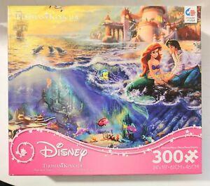 Thomas Kinkade Disney Puzzle 300 Pieces Murmaid