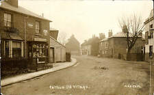 Feltham Old Village by WHA # 2619. M.A Windiate Shop.