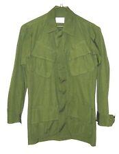 New Vietnam Slant Pocket Jungle Fatigue Shirt Od Large Long Unissued '69