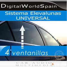 SISTEMA DE ELEVALUNAS COMPLETO UNIVERSAL 4 VENTANILLAS