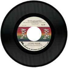 "LUTHER INGRAM  ""DO YOU LOVE SOMEBODY c/w HOW I MISS MY BABY""  70's   LISTEN!"