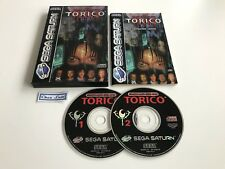 Torico - Sega Saturn - PAL EUR - Avec Notice