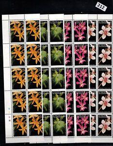 # 10X ST. VINCENT - MNH - FLOWERS - FLORA