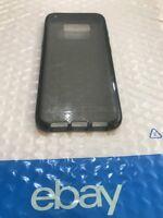 Tech21 Evo Check Case Slim Cover for Samsung Galaxy S8+ Plus Smokey Black NEW