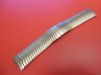 GENUINE EBEL STEEL GOLD TRIM SPORT CLASSIC 20MM DEPLOYMENT STRAP BAND BRACELET