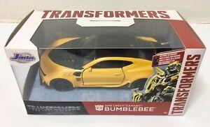 Transformers BUMBLEBEE (2016 Chevy Camaro) Diecast 1:32 Scale - Jada Toys NEW