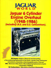 JAGUAR XK ENGINE OVERHAUL MANUAL RESTORATION BOOK 6 CYLINDER SU IRS 1948 1986 6