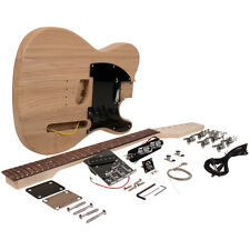 DIY Classic Tele Style Electric Guitar Kit - Unfinished Luthier Project Kit