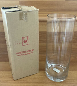 Yankee Candle Cylinder 9 Inch Clear Glass Candle Holder 1125181