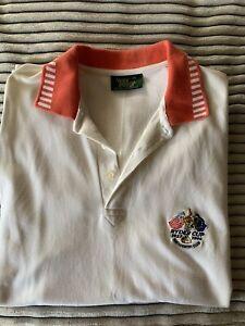 Vintage Ryder Cup Original Polo Shirt 1999 The Country  Club - Glenmuir