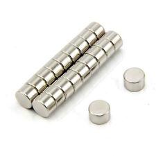 8mm diámetro x 5mm de espesor N42 Imán de neodimio-Tire 2kg (paquete de 200)