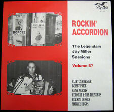 Rockin' Accordion - Jay Miller Sessions Vol 57 - Flyright 622 - New