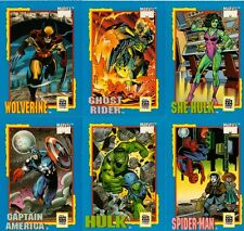 Trading Card Treats Full 36 Card Set of Trading Cards released in 1991 by Impel