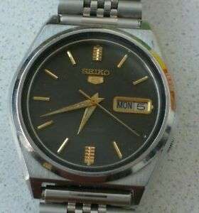Seiko 5, Vintage Gents Watch, 7009-876A, Automatic, Overhauled, Guaranteed