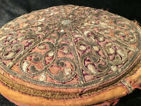 Coussin Broderie XVIII eme Siècle Ottoman Perse Turque ? A Identifier