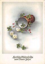 BG14977 dice clover new year neujahr   germany