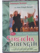 DAMAGED - 2 DVD Set - Stronger Seniors - Stretch and Strength - FREE SHIPPING!!!