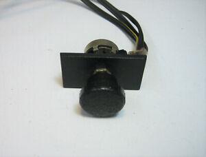 Vintage Volvo Sound 140 240 242 244 245 Speaker Balance Fader Dial Switch Violet