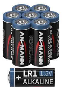 ANSMANN LR1 1,5V Alkaline Batterie Spezialbatterie - 8er Pack
