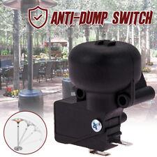 New Anti-Dump Micro Switch Tilt Shut Off Switch Electric Heater Black AC220V 16A