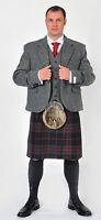 Harris Tweed Laxdale Kilt Jacket & Vest  4 Kilts Official Stockist SALE NOW