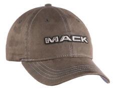 Mack Trucks Bulldog Charcoal Cotton Canvas Work Cap/Hat