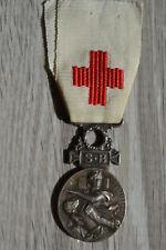 F5) Médaille DE LA CROIX ROUGE guerre 14 18 French medal FRANCE