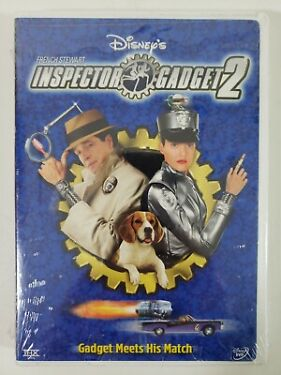 Disneys Inspector Gadget 2 DVD French Stewart New and Sealed