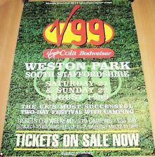 """SUEDE HAPPY MONDAYS MANIC STREET PREACHERS """"V99"""" 'TICKETS ON SALE NOW' POSTER"""