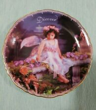 Bradford Exchage A Magical Discovery Life's Little Treasures Porcelain Plate