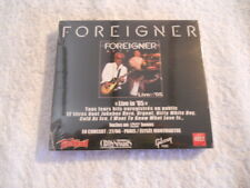 """Foreigner """"Live in '05"""" 2006 cd & DVD Box Set Replica Rec. New Sealed"""