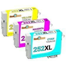 252 XL T252XL Remanufactured Ink for Epson WorkForce WF-7620 WF-7710 WF-7720