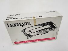 Lexmark Genuine C510 High Yield Toner Cartridge Magenta 20K1401